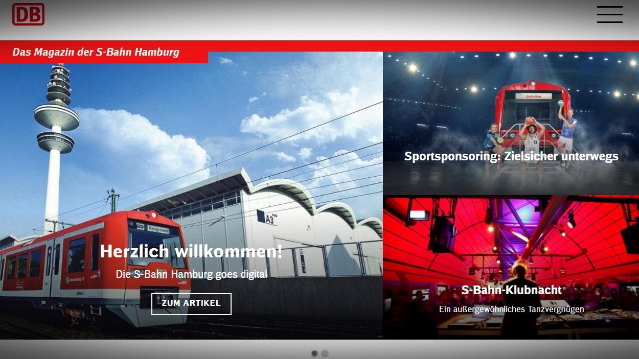 S-Bahn startet Online-Magazin und Facebook-Auftritt – Nahverkehr ...