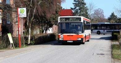 Straßensperrung in Wentorf: Verkürzung der Linien 235 und 236