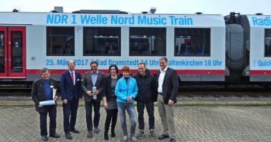 """""""Music Train"""": Band von Jan Josef Liefers mit AKN unterwegs"""