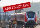 April, April! im Hamburger Nahverkehr